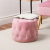 Lynwood Round Tufted Pouf
