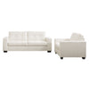 Club 2pc tufted sofa set