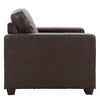 Tufted Bonded Leather Chair