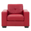 Club Tufted Sofa Set 3pc