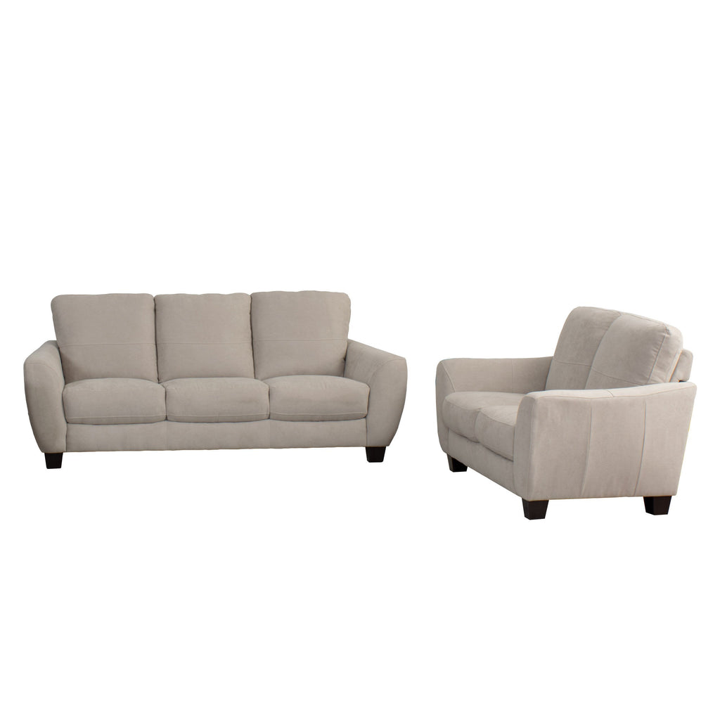 2pc Bonded Leather Sofa Set - *CLEARANCE*