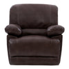 3pc Plush Reclining Bonded Leather Sofa Set