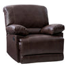 "Lea Plush Reclining Bonded Leather Recliner - <body><p style=""color:#ED1C24"";>*CLEARANCE - Final Sale*</p></body>"
