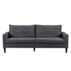 3 Piece Sewn Panel Tufted Sofa Set with Wooden Legs - *CLEARANCE*