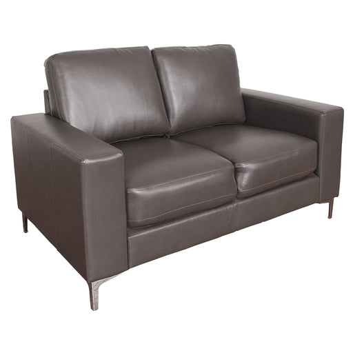 Contemporary Bonded Leather Loveseat - *CLEARANCE*