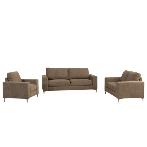 3pc Contemporary Chenille Fabric Sofa Set - *CLEARANCE*