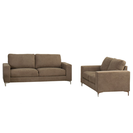 2pc Contemporary Chenille Fabric Sofa Set - *CLEARANCE*