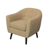 Oliver Barrel Chair in Linen Fabric - *CLEARANCE*