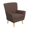 Demi Club Chair in Linen Fabric - *CLEARANCE*