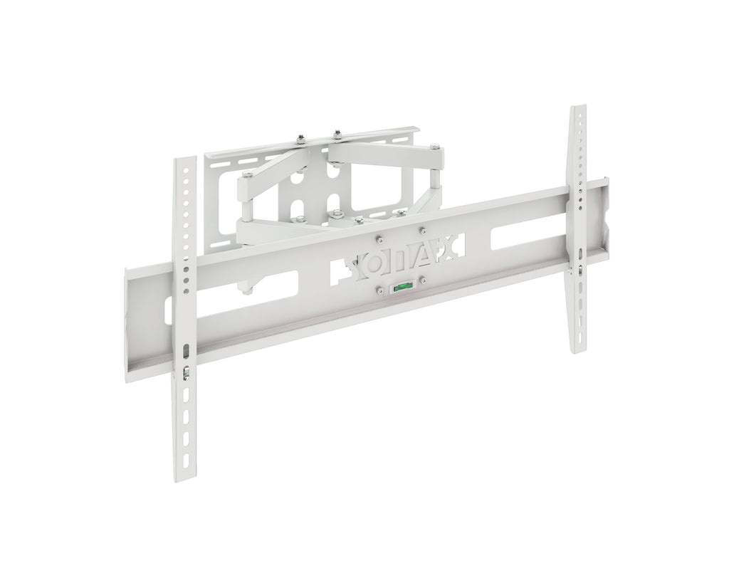 "Full-Motion White Wall Mount for 40"" - 80"" TVs- <body><p style=""color:#ED1C24"";>*CLEARANCE - Final Sale*</p></body>"