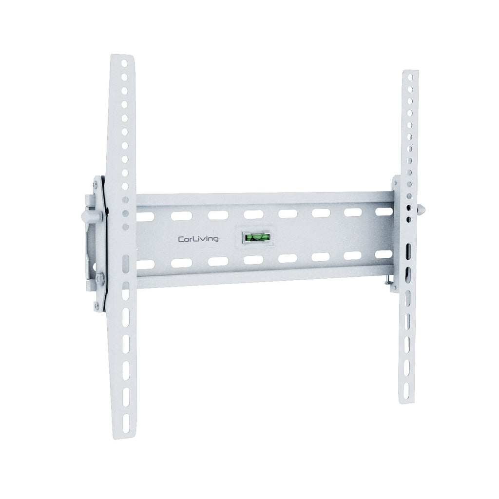 "Tilting, Low-Profile White Wall Mount for 26"" - 65"" TVs"