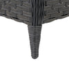 Parkview Wide Rattan Wicker Patio Foot Stool