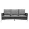 Parkview Wide Rattan Wicker Patio Sofa