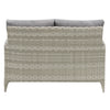 Parkview Wide Rattan Wicker Patio Loveseat