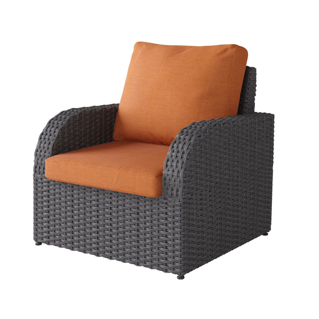 Brisbane Weather Resistant Resin Wicker Patio Chair