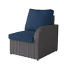 Brisbane Weather Resistant Resin Wicker Right Arm Patio Chair