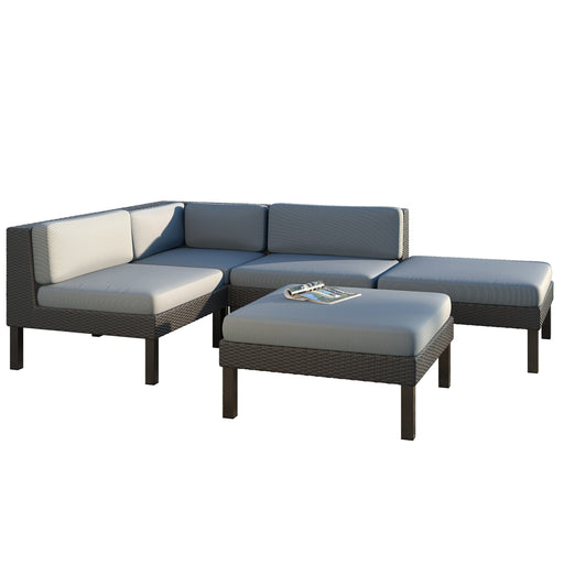 Oakland 5pc Chaise Lounge Patio Set - *CLEARANCE*