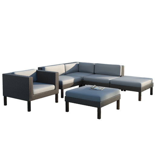 Oakland 6pc Sectional Chaise Lounge Chair Set - *CLEARANCE*