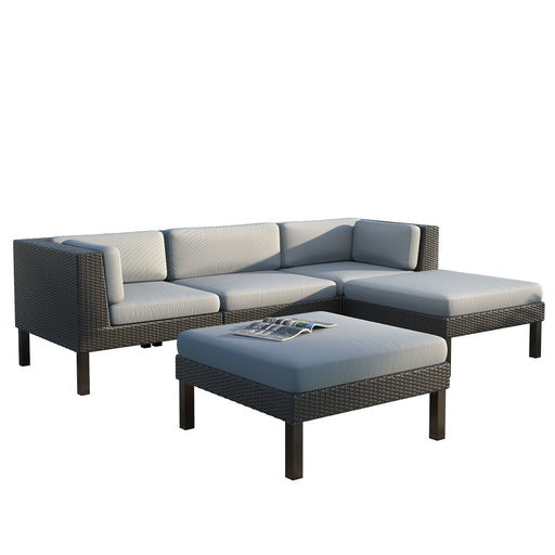 Oakland 5pc Sofa and Chair Lounge Set - *CLEARANCE*