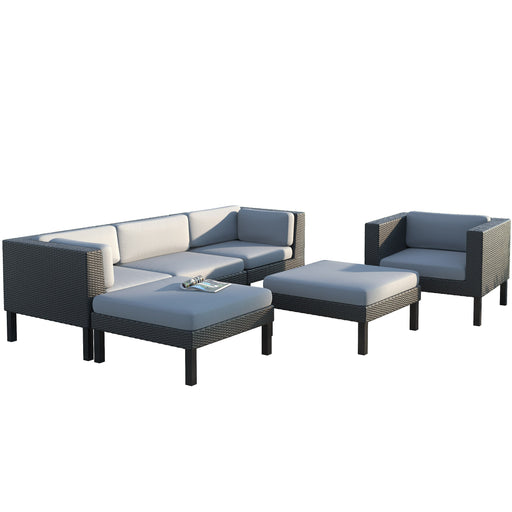 Oakland 4pc Lounger Patio Set - *CLEARANCE*