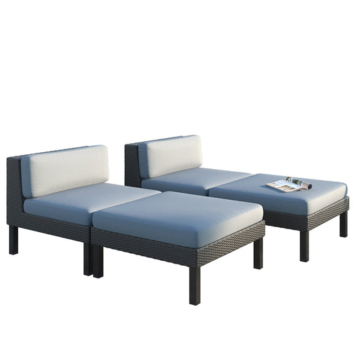 4 Piece Lounger Patio Set - *CLEARANCE*