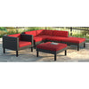 Oakland Sectional Chaise Lounge Chair Set 6pc- *CLEARANCE*