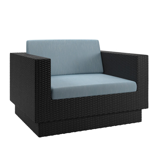 Patio Chair in Textured Weave - *CLEARANCE*
