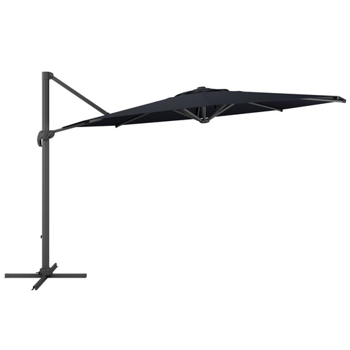 11.5ft UV Resistant Deluxe Offset Patio Umbrella