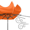 10ft UV and Wind Resistant Tilting Patio Umbrella