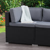 Parksville Patio Sectional Corner Chair