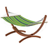 Free-Standing Patio Hammock in Canvas - *CLEARANCE*