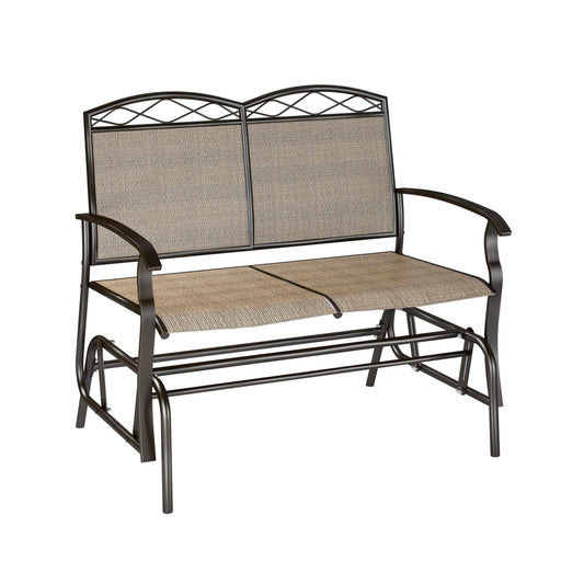 Speckled Brown Patio Double Glider- *CLEARANCE*