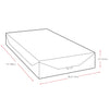 "10"" Single/Twin Medium Firm Memory Foam Mattress - *CLEARANCE*"