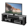 Bakersfield Black Wooden TV Stand, for TVs up to 65""