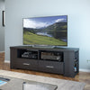Bromley TV Bench in Ravenwood Black, for TVs up to 70""