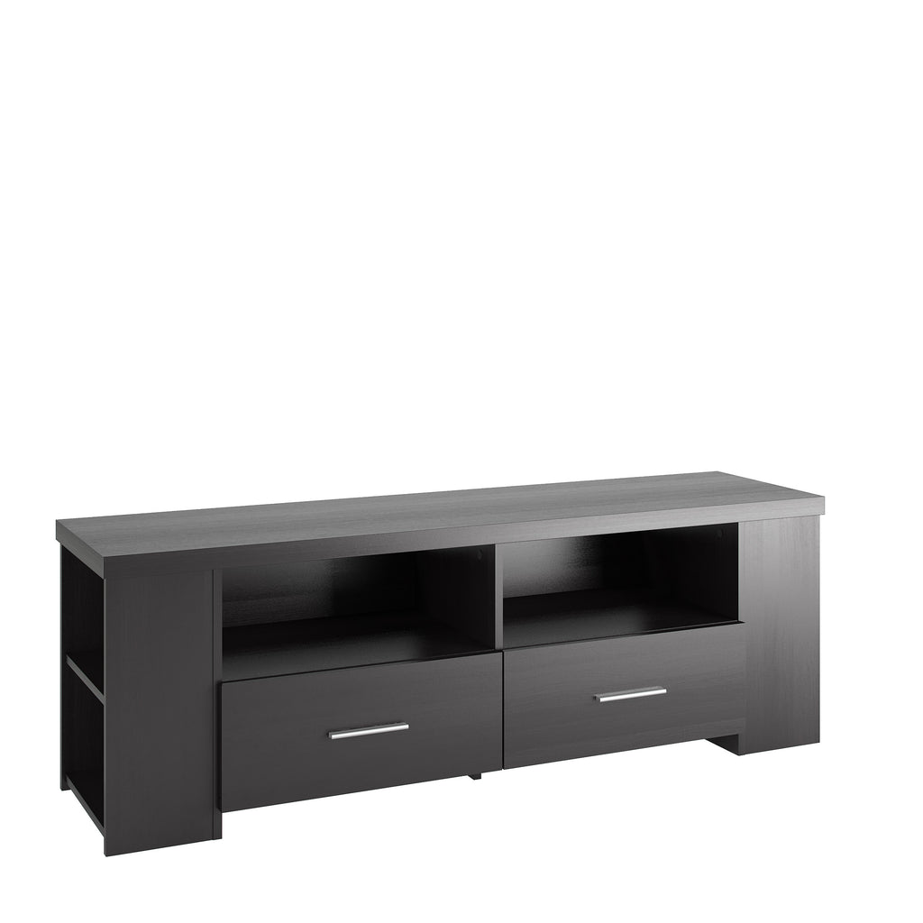 Bromley TV Bench in Ravenwood Black, for TVs up to 75""