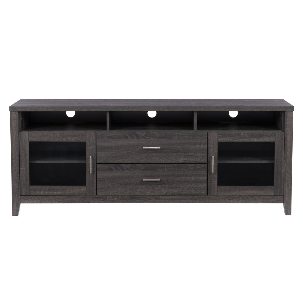 Hollywood TV Cabinet with Drawers, for TVs up to 80""