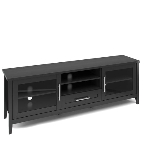 Jackson Wooden TV Stand, for TVs up to 80""