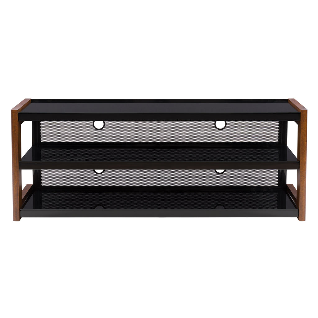 Milan Quick-Click Nutmeg Brown TV Bench for TVs up to 70""