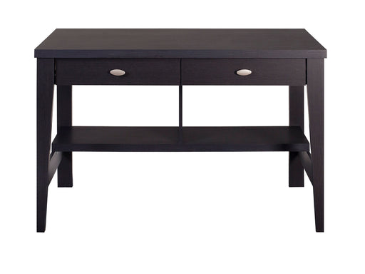 Folio Black Two Drawer Desk