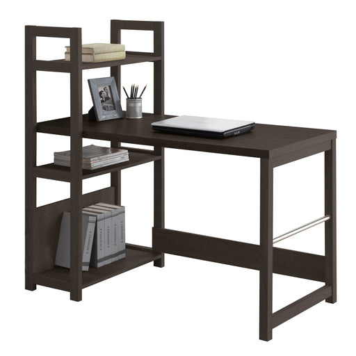 Black Espresso Bookshelf Styled Desk - *CLEARANCE*