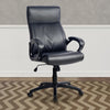 Black Leatherette Managerial Office Chair - *CLEARANCE*