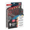 "HDTV 5pc HDMI Kit - <body><p style=""color:#ED1C24"";>*CLEARANCE - Final Sale*</p></body>"
