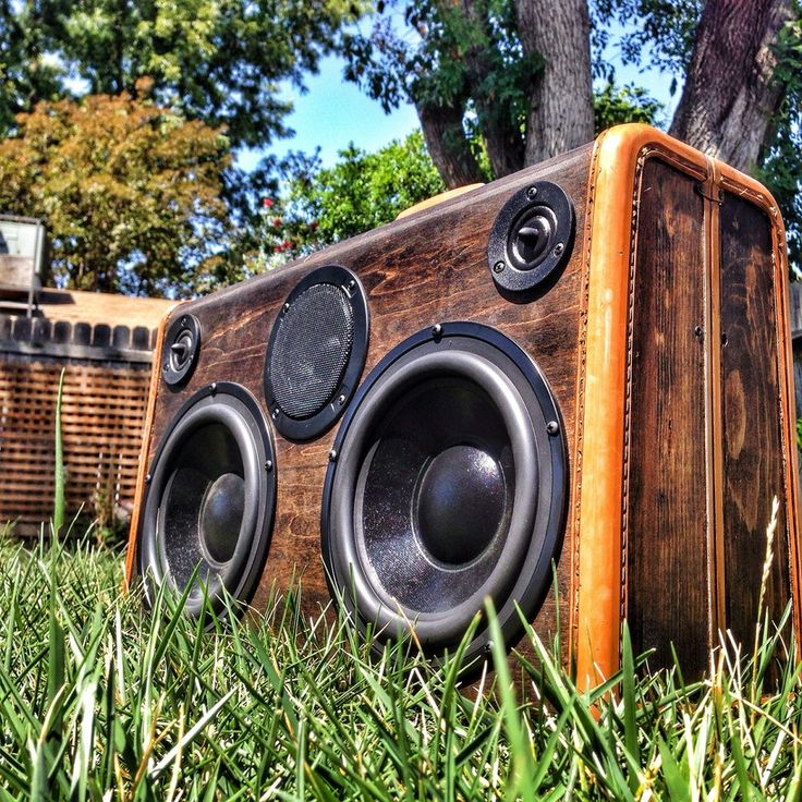 DJ Special Wood Grain 400 Watt BoomCase - Vintage Suitcase BoomBox Suitcase Speaker w/ Bluetooth