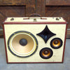 Mr. Wilson 200 Watt BoomCase - vintage suitcase portable boombox
