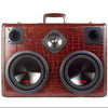 Monster Mini DJ Special 700 Watt BoomCase - vintage suitcase portable boombox