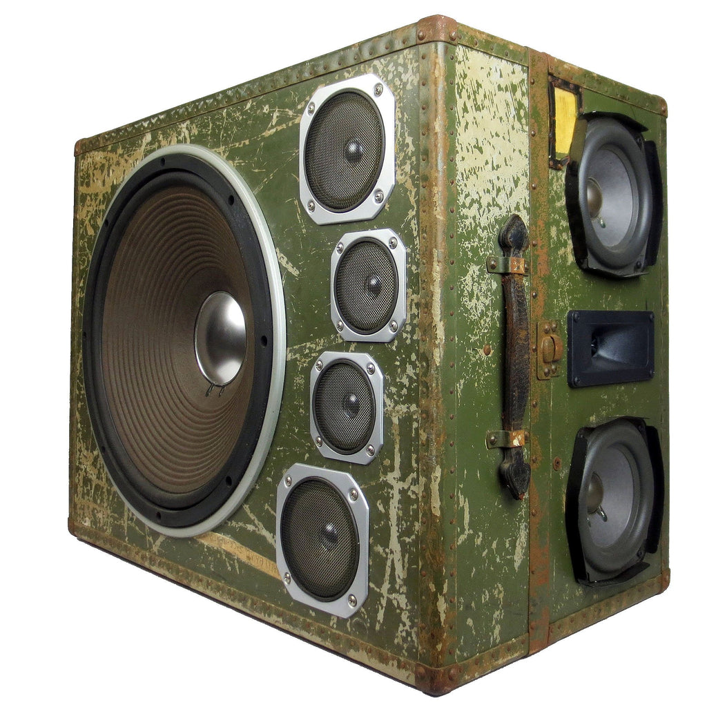 Retro BoomBox with Bluetooth by BoomCase - Vintage Trunk