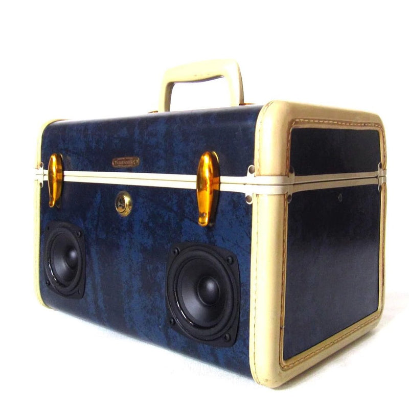 Billy Ocean 50 Watt BoomCase - Vintage Suitcase BoomBox Suitcase Speaker w/ Bluetooth