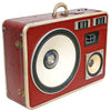 Super Snake Bass 400 Watt BoomCase - vintage suitcase portable boombox