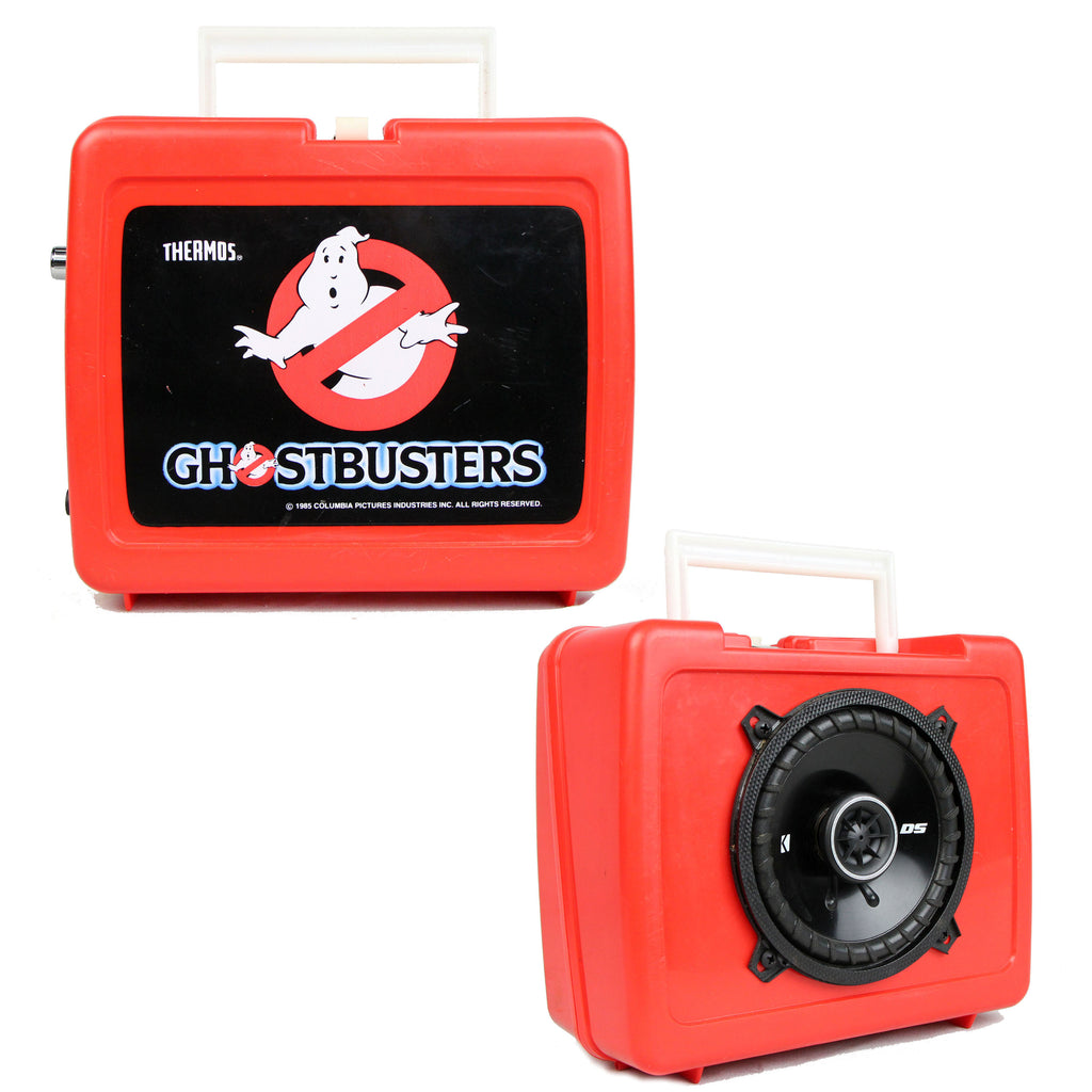 Vintage Lunchbox Ghostbusters Speaker BoomBox by BoomCase